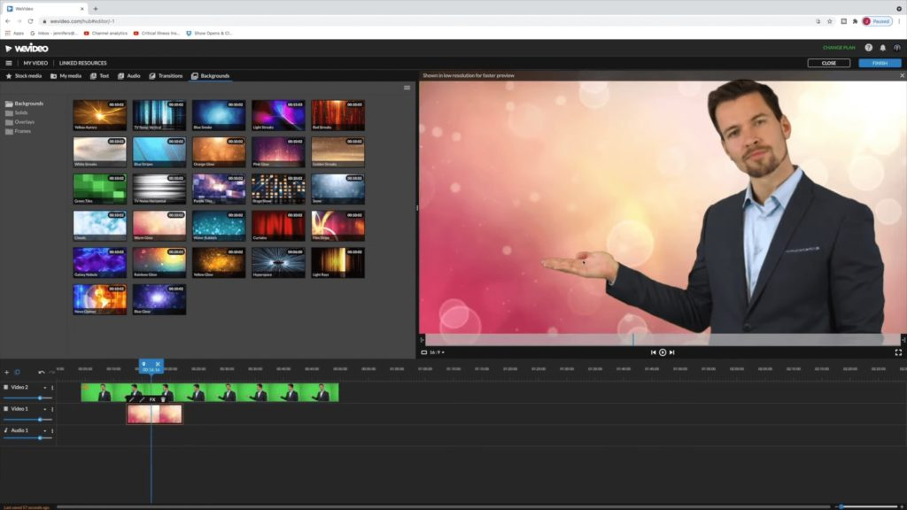 video editor color keying